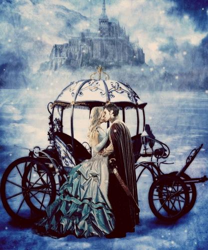 অনুরাগী art of Emma and Hook(Colin O'Donoghue&Jennifer Morrison) from Once Upon A Time