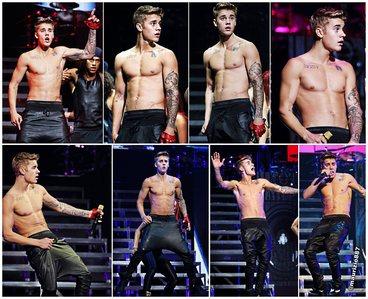 shirtless Bieber x 8