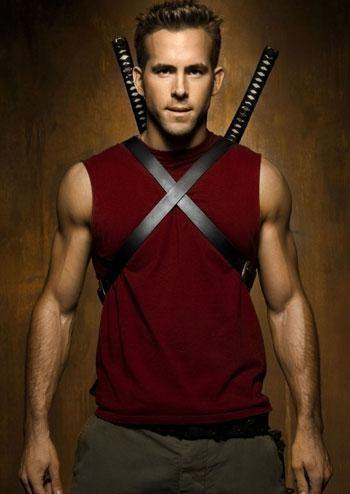 Ryan Reynolds in red