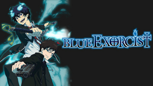 july exorcist! but i cant believe that the image of november vampire is with vampire knight! that is really a good anime... i think that diabolik pasangan is a bit confusing because all of that stuff with their past and family... but it s good! and also its the first anime i ever watched! :-0