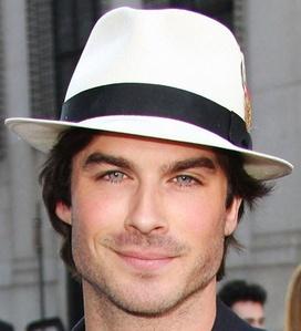 Ian wearing a fedora