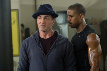 Michael B. Jordan is 29 since Feb 9th pictured with Sylvester Stallone in the film, Creed :)