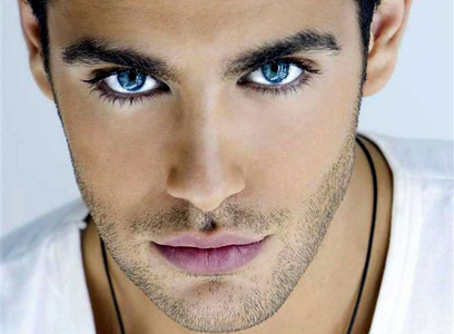 don't know his name,but his eyes are extraordinary