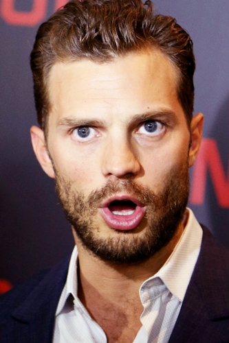 Jamie with his mouth open ;)