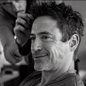 RDJ with eye wrinkles and cheek wrinkles