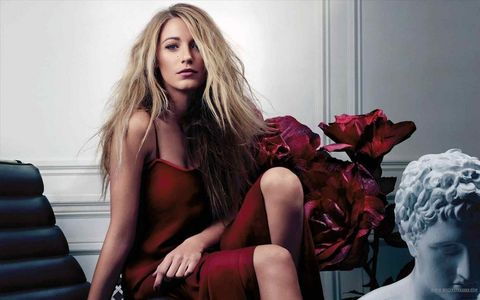 Blake Lively, she's been my woman crush since she first started Gossip Girl.