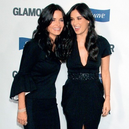 Courteney Cox and Demi Moore :)