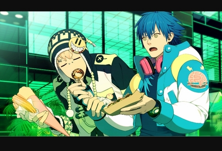 Noiz from dramatical murder (Their faces here lmao)