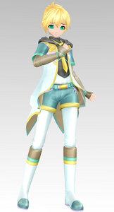 Rin or Len's model of Ciel with Ciel phantom same name