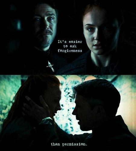 Petyr x Sansa