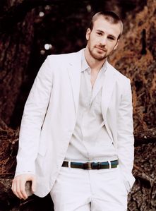 Chris Evans in white