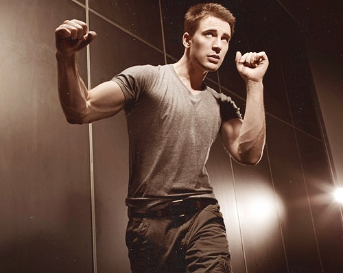 Captain America's veins