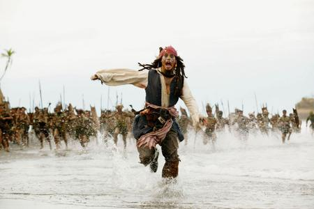 "I saw somewhere that POTC Фаны are named the ""rhum runners"""