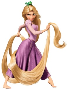 Rapunzel from Tangled.