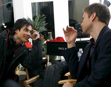 Ian Somerhalder and Matt Davis