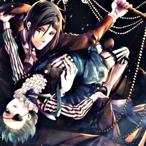 ** randomly giggles ** I don't mind waking up not to someone, to a butler and master .3. Ciel Phantomhive and Sebastian Michaelis <3 once tu know me más you'll understaaand <33
