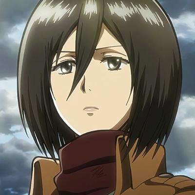 I feel like I'd wanna wake up siguiente to Mikasa... *smiles and blushes*