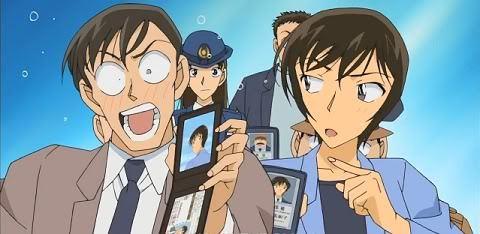 Wataru Takagi and Miwako Sato from Detective Conan
