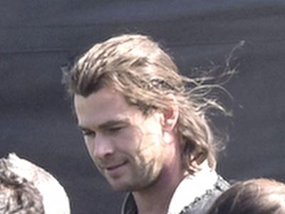 Chris with longer hair
