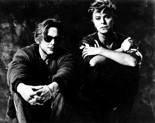 David and Mickey Rourke