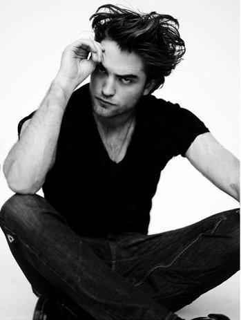 Robert with his legs crossed