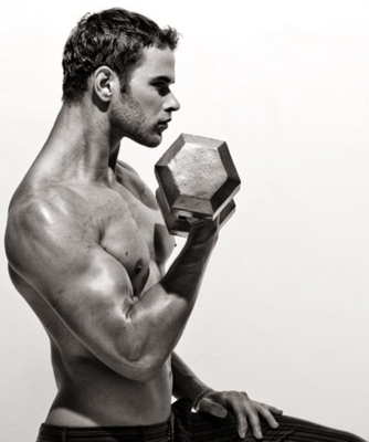 Kellan looking strong and fit