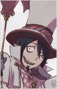 "Mephisto Pheles from Ao No Exorcist always seems a bit off to people, but most just brush it off, even though he's actually a pretty intelligent and twisted person (erm, demon) deep down. Not to mention his style of clothing isn't exactly...""normal"". And he's actually a demon king."