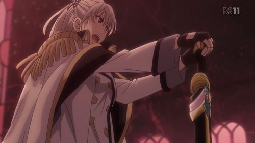 Qualidea Code(Anime) Maihime, alongside Hotaru, fought this huge Unknown(an alien), without realizing that this one had been Airi Yūnami, who was a mother figure. Mai only found that out after giving that Unknown the killing blow, which put an end to the war between mankind and the Unknown.