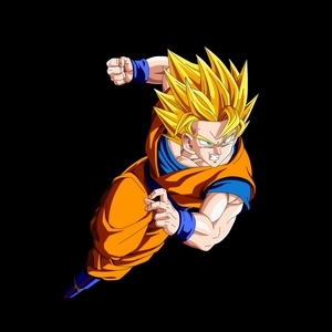 Super Saiyan goku from Dragon Ball Z