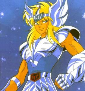 Hyoga from Saint Seiya.