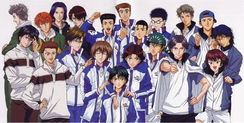 I really 爱情 everybody in prince of 网球 Also Hitman reborn and Chihayafuru are 日本动漫 where i 爱情 the 总体, 整体 cast