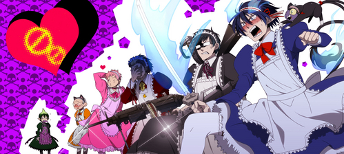 I प्यार the main cast in Blue Exorcist and in Ouran Highschool Host Club. I think the characters are amazing~