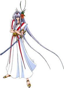 Amaterasu dis Grand Grees Eydas IV from The Five bintang Stories