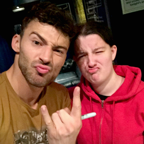 Me and Jake Quickenden from Newcastle 29th September 2016