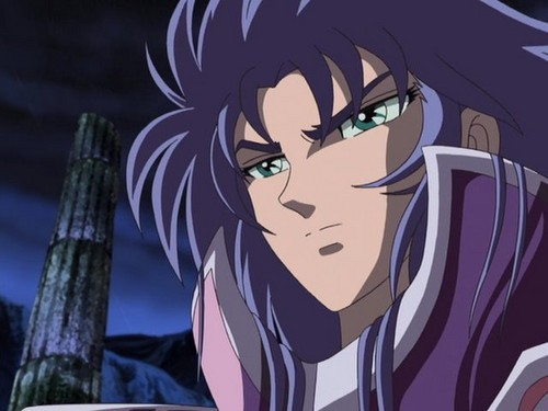Gemini Saga from Saint Seiya.