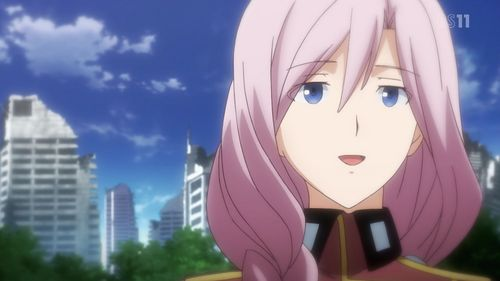 Airi Yūnami(human form) from Qualidea Code, that is if آپ consider her to be Aoi Yaegaki's mother.