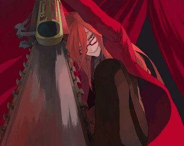 I saw a picture of Grell, but it wasn't good enough! Let me get a pic from my marvelous Grell collection...