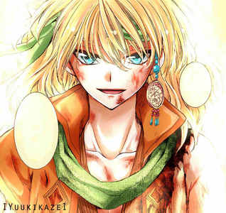 "My Zeno from ""Akatsuki no Yona"" fluffy~"