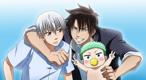 Oga and Furuichi from Beelzebub. :D