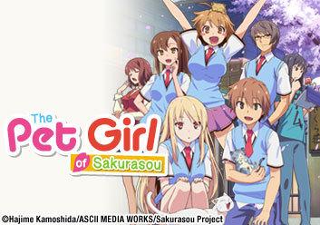 The pet girl of Sakurasou and lucky star(although the pet girl of sakurasou has a little ecchi humor)