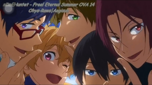 Free! Iwatobi Swim Club!!!! If u want cute boys!!!