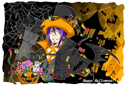 (This was postato on my club today so I'm using it...thanks to DisneyPrince88~ ^-^) Mephisto~ <3 He looks so great in Halloween colors. ;-;
