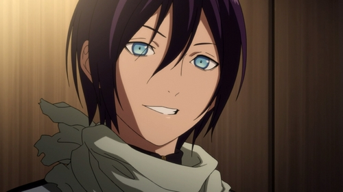 I just started watching Noragami, and Yato has already made it to number 4 on my listahan of characters I crush on. (Mind you, this listahan has over 60 people) He's just so beautiful and he's an idiot and so cool. XD And those EYES. ;-; (He has a nice booty, too)