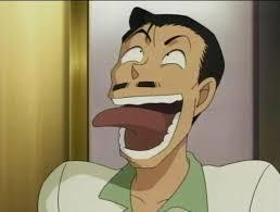 Kogoro Mouri from Detective Conan He is Ran Mouri's father