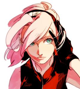 defiantly Sakura haruno <3 from Naruto