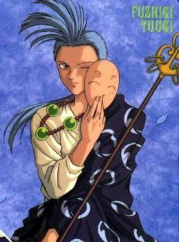 Mine is Chichiri one of the celestial warriors of suzaku seven FUSHIGI YUUGI