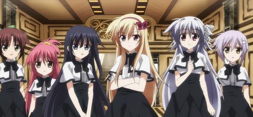 Unlimited Fafnir has Magical Girls, even though the main protagonist is male.