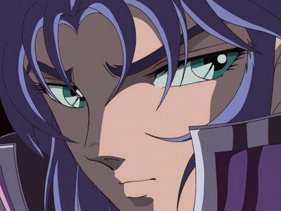Gemini Saga from Saint Seiya.