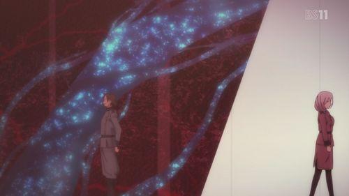 Qualidea Code: Gutoku Asanagi(Mutated Human) X Airi Yūnami(alien) The latter died because she didn't want her kind attacking Earth anymore.