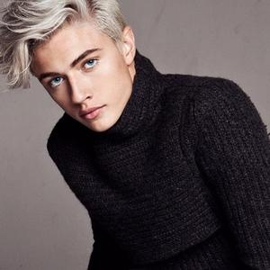 Lucky Blue in black